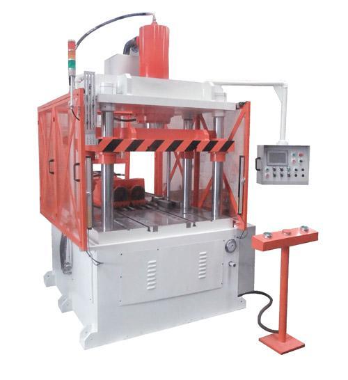 四柱油压机的结构及常见